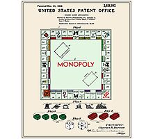 Monopoly Patent - Color Photographic Print