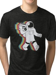 Radio & Spaceman Tri-blend T-Shirt