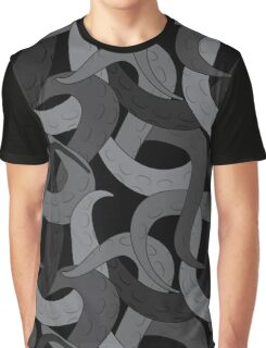 Tentacle Deapths Graphic T-Shirt