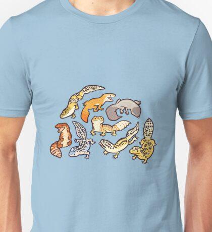 chub geckos in blue Unisex T-Shirt