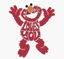Elmo Loves you Kids Tee