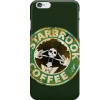 Starbrook Coffee Grunge iPhone Case/Skin