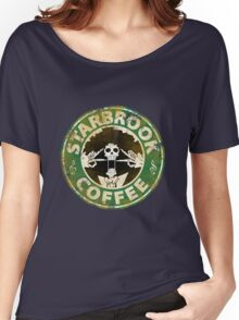 Starbrook Coffee Grunge Women's Relaxed Fit T-Shirt