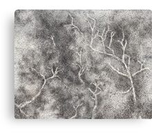Hand drawn forest Canvas Print