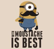 Minion moustache by Guidux