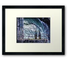 Didn't you say ICEBERG??? Framed Print