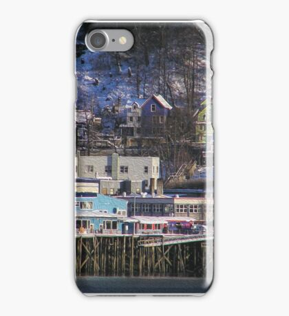 Juneau Community Waterfront iPhone Case/Skin
