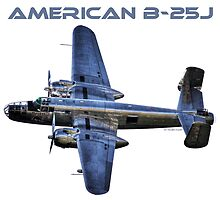 """North American B-25J """"Mitchell"""" - Red Bull by Holger Mader"""