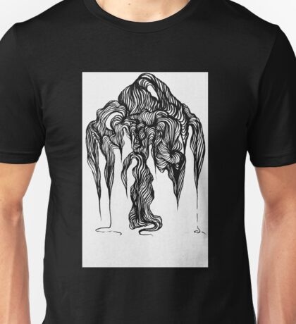 Micron brush pen drawing Unisex T-Shirt