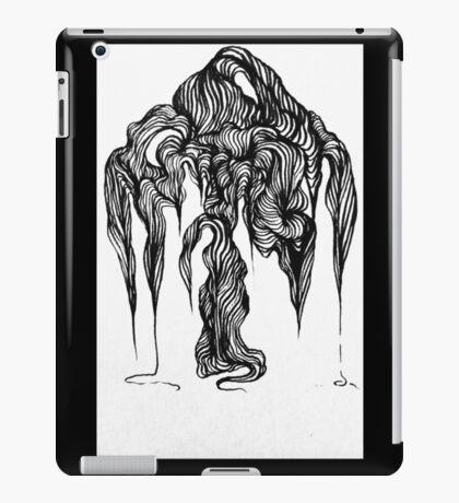 Micron brush pen drawing iPad Case/Skin