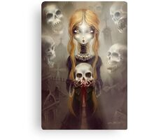 Black Widow by Élian Black'Mor Metal Print