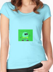 Videogame Mooky Women's Fitted Scoop T-Shirt