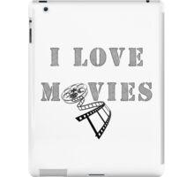 I love movies iPad Case/Skin