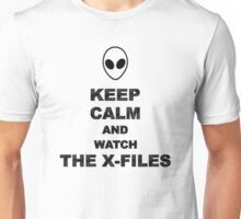 Keep Calm and Watch The X-Files Unisex T-Shirt