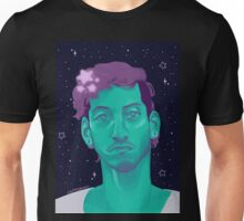 but do aliens believe in us? Unisex T-Shirt