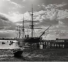 HMS Warrior  Photographic Print