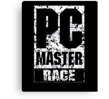 PC Master Race Canvas Print