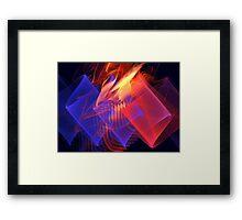Venusian Ribbons Framed Print