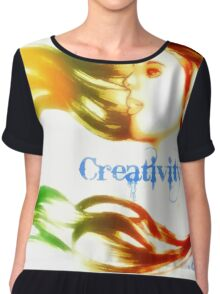 Creativity Chiffon Top
