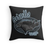 Godzilla - saving Earth since 1945 Throw Pillow