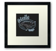 Godzilla - saving Earth since 1945 Framed Print