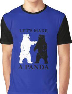 Let's Make A Panda Graphic T-Shirt