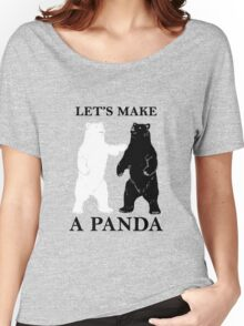 Let's Make A Panda Women's Relaxed Fit T-Shirt