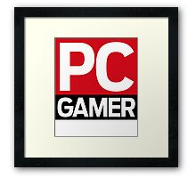 PC Gamer Framed Print