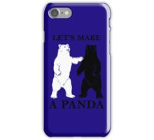 Let's Make A Panda iPhone Case/Skin