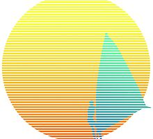 Summer Windsurfer by streams