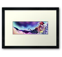 What are whispering the stars? Framed Print