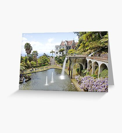 Monte Palace, Funchal, Madeira Greeting Card
