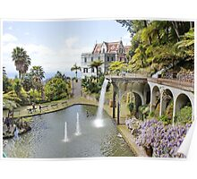 Monte Palace, Funchal, Madeira Poster