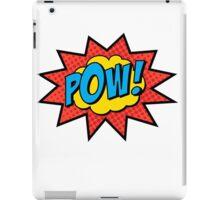 Pop Art Comics Pow! iPad Case/Skin