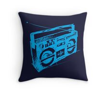 MC Grizzly's Humble Beginnings... Throw Pillow