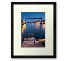 Bridge of Bizkaia Framed Print