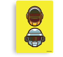 Daft Vectors! Canvas Print