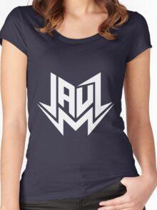 Jauz Logo Women's Fitted Scoop T-Shirt