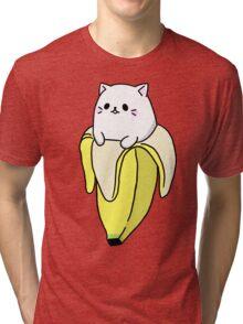 """Bana NYA!"" - Bananya Tri-blend T-Shirt"