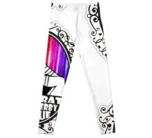 BRDL Rainbow Logo - Clothing, Pillows & Phone Wallet Leggings