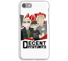 Decent Opportunity Unofficial Merchandise iPhone Case/Skin