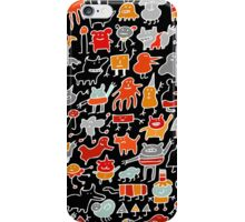Monsters in the Dark iPhone Case/Skin