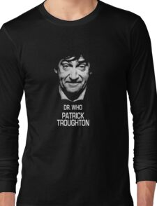 Dr. Who Patrick Troughton Long Sleeve T-Shirt