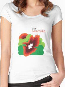 Visit Laramidia Women's Fitted Scoop T-Shirt