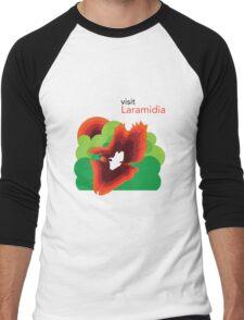 Visit Laramidia Men's Baseball ¾ T-Shirt