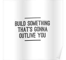 Build Something Poster