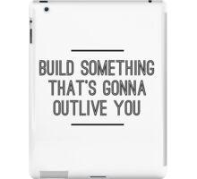 Build Something iPad Case/Skin