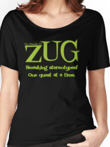 ZUG Slogan Women's Relaxed Fit T-Shirt