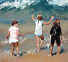 Braving The Waves II by Claire McCall