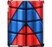 Superheroes - Red and Blue iPad Case/Skin